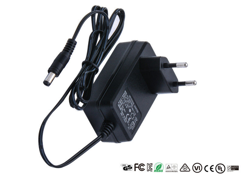 12W - 24W Ac Dc Power Adapter 5V 12V 18V 500mA 1A 1.2A 500000 Hours